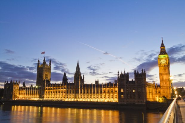 Houses of Parliament. Credit: Michael D Beckwith.